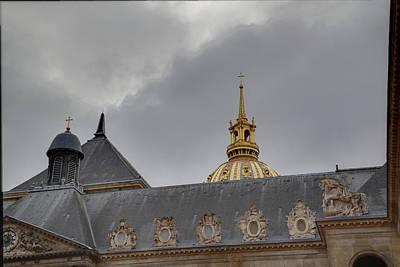 Les Invalides - Paris France - 011311 Art Print