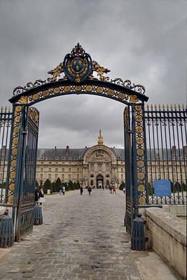 Elegant Photograph - Les Invalides - Paris France - 01138 by DC Photographer