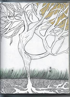 Uplifting Drawing - Let Me Grow For You by Jessie R Ojeda