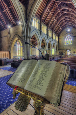 Christian Sacred Photograph - Let Us Pray by Ian Mitchell