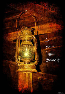 Photograph - Let Your Light Shine by Jordan Blackstone