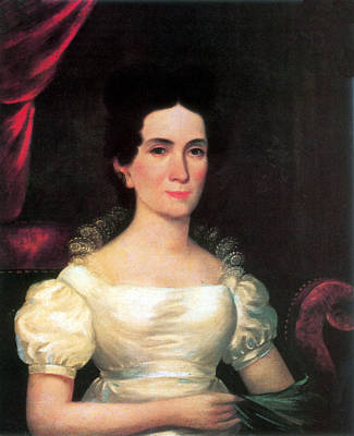 First Lady Photograph - Letitia Tyler, First Lady by Science Source