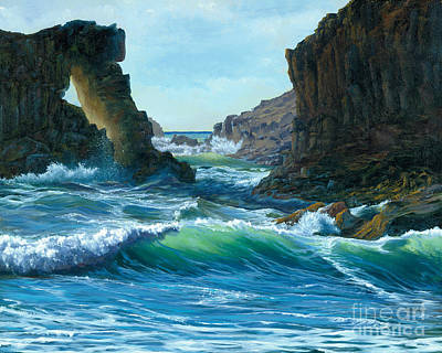 Painting - Letting The Ocean In by Jeanette French
