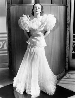 Letty Lynton, Joan Crawford, In A Gown Art Print