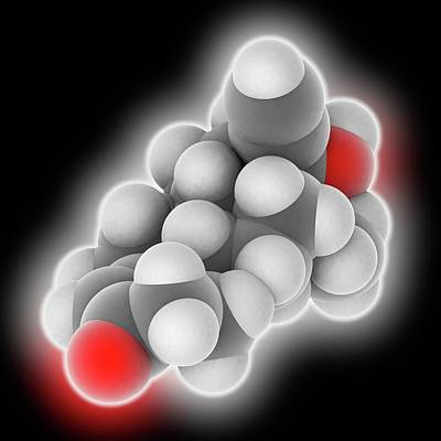 Generation Next Photograph - Levonorgestrel Drug Molecule by Laguna Design