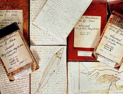 Philosophical Photograph - Lewis And Clark Expedition Journals by American Philosophical Society
