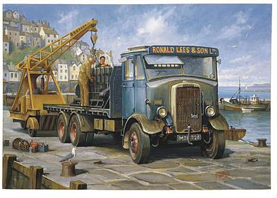 Leyland Hippo At Brixham. Original by Mike  Jeffries