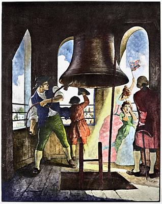 Liberty Bell, 1776 Art Print