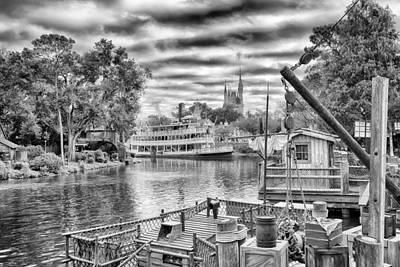 Photograph - Liberty Square Riverboat by Howard Salmon