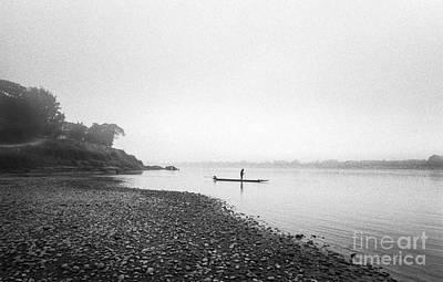Life At Mekong River Print by Setsiri Silapasuwanchai