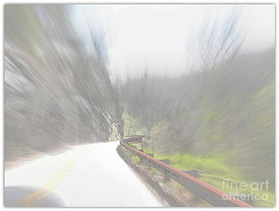 Digital Art - Life In The Fast Lane by Angelia Hodges Clay