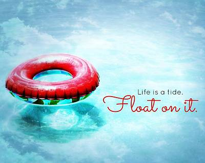 Digital Art - Life Is A Tide 2 by Valerie Reeves