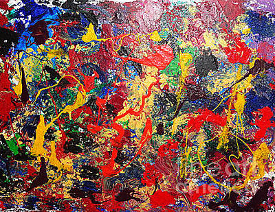 Painting - Life Is A Wonderful Adventure by Yael VanGruber