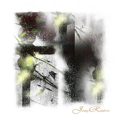 Photograph - Light And Shadow. Abstract. Mini-square Idea For Interior by Jenny Rainbow