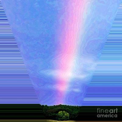 Arc-en-ciel Digital Art - Light Beam by Mateo Brigande