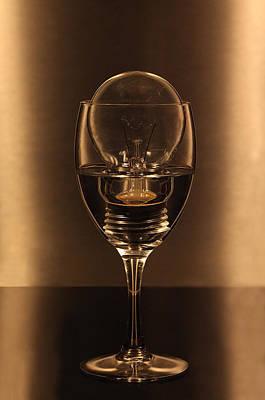 Frosty Mug Photograph - Light Drink by Kent Mathiesen
