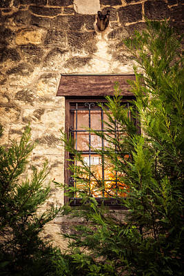 Photograph - Light In The Window by Melinda Ledsome