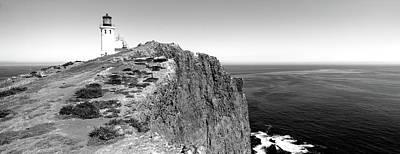 Anacapa Photograph - Lighthouse At A Coast, Anacapa Island by Panoramic Images