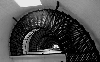 Rebecca West Photograph - Lighthouse Iv by Rebecca West