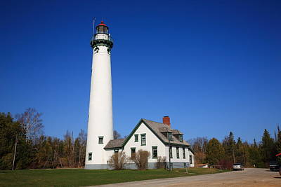 Photograph - Lighthouse - Presque Isle Michigan 6 by Frank Romeo