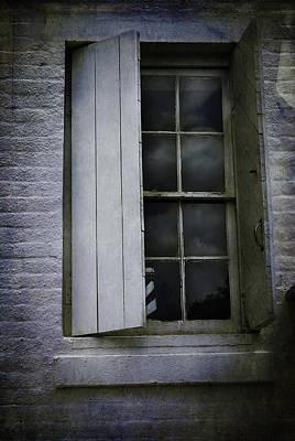 Photograph - Lighthouse Window by Judy Hall-Folde
