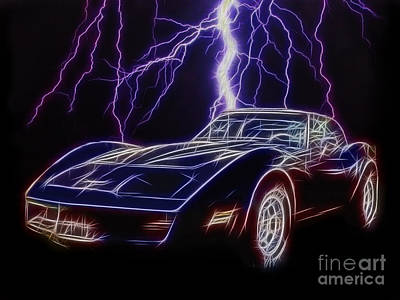 Lightning Fast Art Print by JohnD Smith
