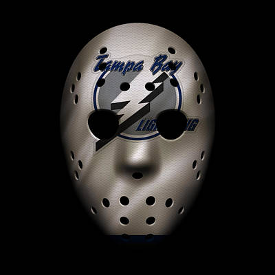 Photograph - Lightning Jersey Mask by Joe Hamilton