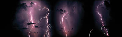 Lightning Photograph - Lightning, Thunderstorm, Weather, Sky by Panoramic Images