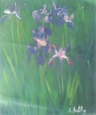 Tiger Lily Mixed Media - Lilacs by Alicia Lindley