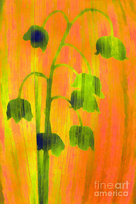 Papyrus Painting - Lily Of The Valley Paint by Odon Czintos
