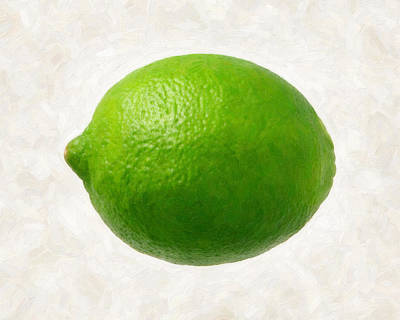 Painting - Lime by Danny Smythe
