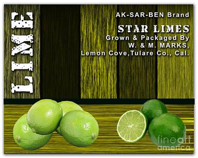 Lime Mixed Media - Lime Farm by Marvin Blaine