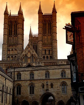 Photograph - Lincoln Cathedral by Chris Cox