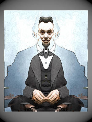 Digital Art - Lincoln Childlike by Zac AlleyWalker Lowing