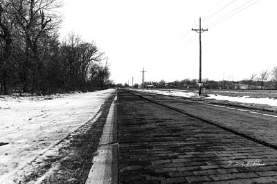 Photograph - Lincoln Highway by Edward Peterson