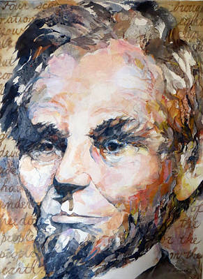 Wall Art - Painting - Lincoln Legacy  by Beverly Berwick