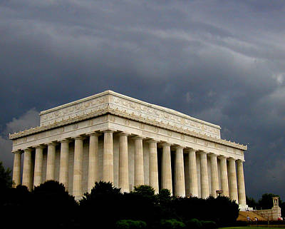 Photograph - Lincoln Memorial by Cindy Wright