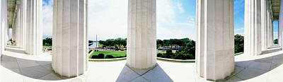 Lincoln Memorial Washington Dc Usa Art Print by Panoramic Images