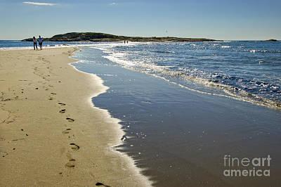 Popham Beach Photograph - Popham Beach by Jim Block