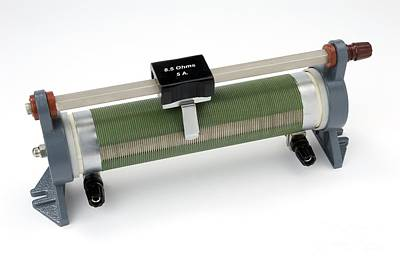 Potential Divider Photograph - Linear Potentiometer by Trevor Clifford Photography