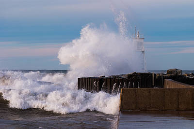 Habor Photograph - Liquid Thunder by James Marvin Phelps