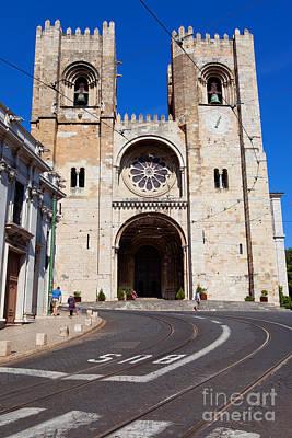 Tower Photograph - Lisbon Cathedral by Jose Elias - Sofia Pereira