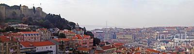 Cityscape Photograph - Lisbon Skyline by Jose Elias - Sofia Pereira