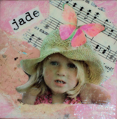Mixed Media - Little Beauty by Ruby Cross