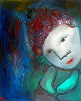 Painting - Little Buddha  by Michaela Kraemer