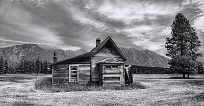 Little Wayne Photograph - Little House On The Prairie by Wayne Sherriff