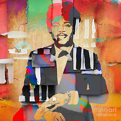 Musicians Mixed Media - Little Richard Collection by Marvin Blaine