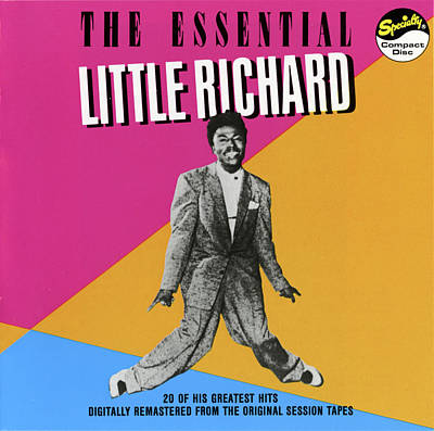 Rhythm And Blues Digital Art - Little Richard -  The Essential Little Richard by Concord Music Group