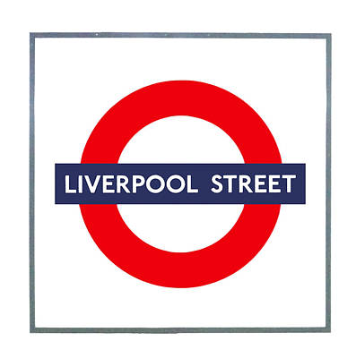 Photograph - Liverpool Street  by Semmick Photo