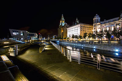 Photograph - Liverpool Waterfront by Wayne Molyneux